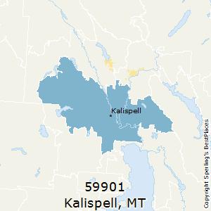 Kalispell Zip Code Map.Best Places To Live In Kalispell Zip 59901 Montana
