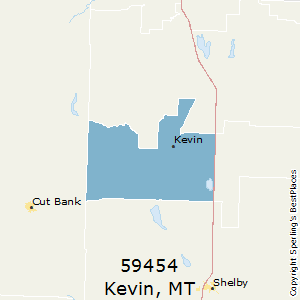 Kevin,Montana(59454) Zip Code Map
