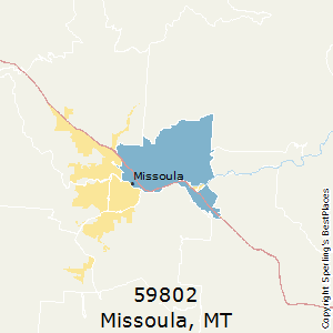Best Places To Live In Missoula Zip 59802 Montana