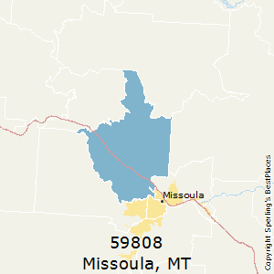 Best Places to Live in Missoula (zip 59808), Montana