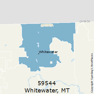 Whitewater,Montana County Map