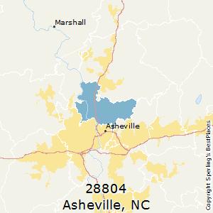 Asheville North Carolina Zip Code Map.Best Places To Live In Asheville Zip 28804 North Carolina