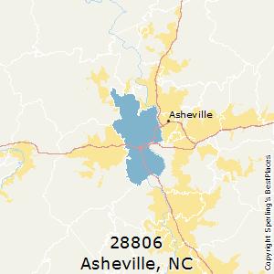 Asheville North Carolina Zip Code Map.Best Places To Live In Asheville Zip 28806 North Carolina