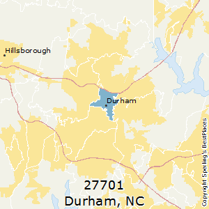 Best Places to Live in Durham (zip 27701), North Carolina on