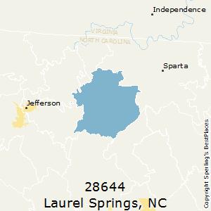 Laurel Springs Nc Map.Best Places To Live In Laurel Springs Zip 28644 North Carolina