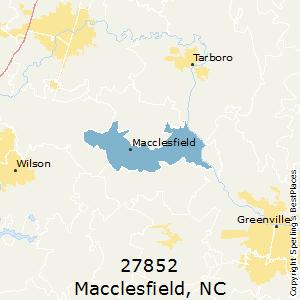 Macclesfield,North Carolina(27852) Zip Code Map