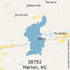 Marion nc zip code