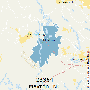 Maxton Nc Map.Best Places To Live In Maxton Zip 28364 North Carolina