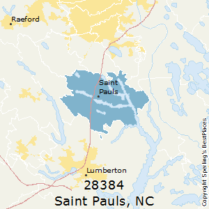 St Paul Nc Map.Best Places To Live In Saint Pauls Zip 28384 North Carolina