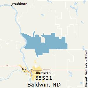 Nd Zip Code Map.Best Places To Live In Baldwin Zip 58521 North Dakota