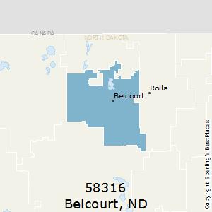 Nd Zip Code Map.Best Places To Live In Belcourt Zip 58316 North Dakota