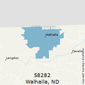 Nd Zip Code Map.Best Places To Live In Walhalla Zip 58282 North Dakota