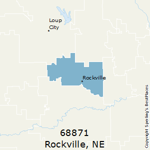 Rockville,Nebraska County Map