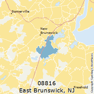 Best Places To Live In East Brunswick Zip 08816 New Jersey