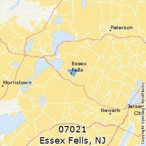 Essex_Fells,New Jersey County Map