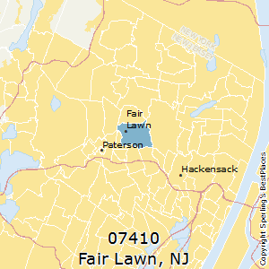 Fair_Lawn,New Jersey County Map