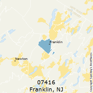 Franklin,New Jersey(07416) Zip Code Map
