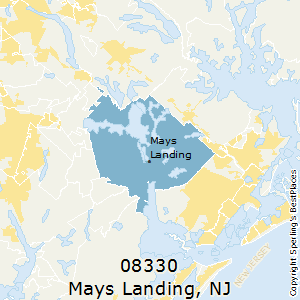 Mays_Landing,New Jersey County Map