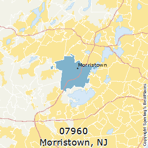 Best Places to Live in Morristown (zip 07960), New Jersey