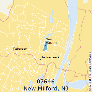 New_Milford,New Jersey County Map