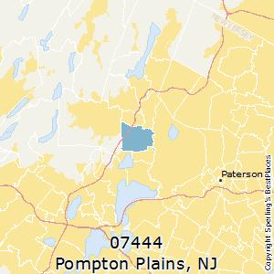 Pompton_Plains,New Jersey County Map