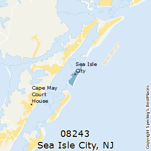 Best Places to Live in Sea Isle City (zip 08243), New Jersey on