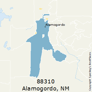 Alamogordo,New Mexico County Map
