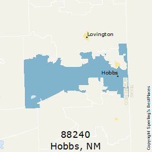 Hobbs zip 88240 New Mexico Cost of Living