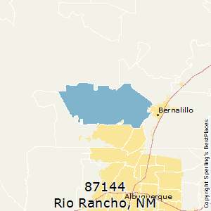 Rio Rancho Zip Code Map.Best Places To Live In Rio Rancho Zip 87144 New Mexico