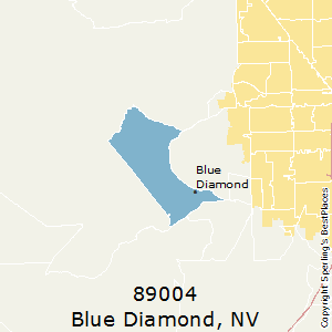 Blue_Diamond,Nevada(89004) Zip Code Map
