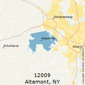 Altamont,New York County Map