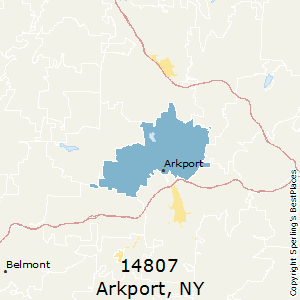 Arkport,New York County Map
