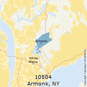 Armonk,New York County Map