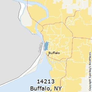 Buffalo,New York(14213) Zip Code Map