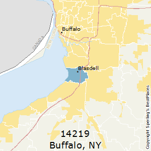 Buffalo,New York County Map