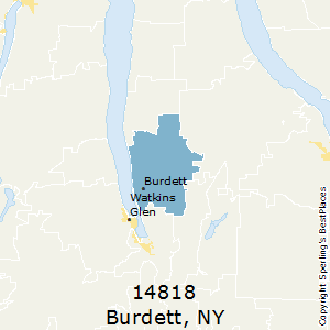 Burdett,New York(14818) Zip Code Map