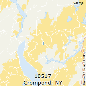 Crompond,New York County Map