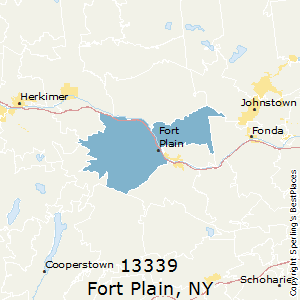 Fort_Plain,New York County Map