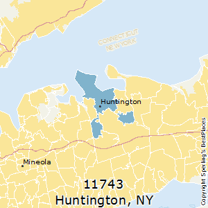 Huntington New York Map.Best Places To Live In Huntington Zip 11743 New York