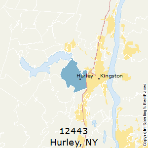 Hurley,New York County Map