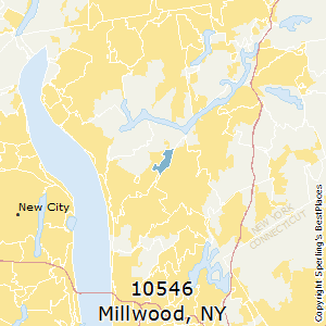 Millwood,New York County Map