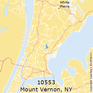 Mount_Vernon,New York County Map