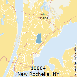 New_Rochelle,New York County Map
