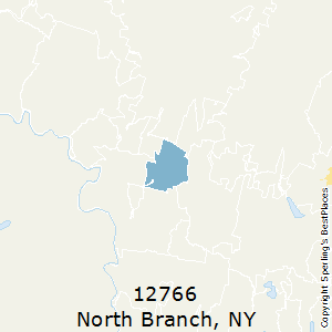 North_Branch,New York(12766) Zip Code Map