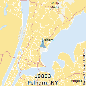 Pelham,New York County Map