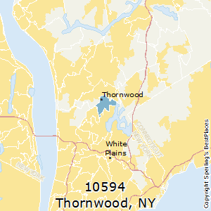 Thornwood,New York County Map