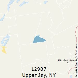 Upper_Jay,New York County Map