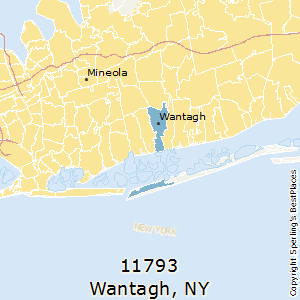 Wantagh,New York(11793) Zip Code Map