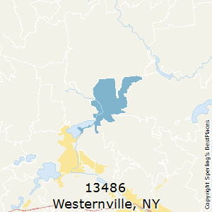 Westernville,New York County Map