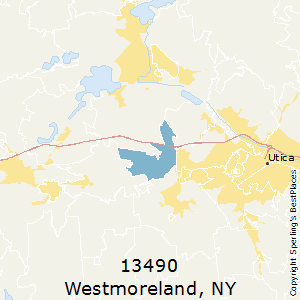Westmoreland,New York County Map